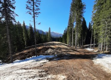 Spring preparations for WCH completed, stored 19,000 cubic meters of snow