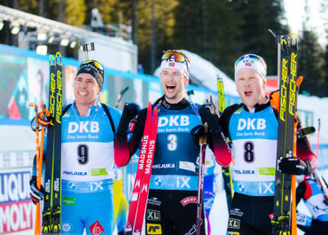 Sturla Holm Laegreid takes seventh Norway's gold in Pokljuka